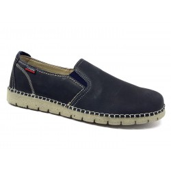 Callaghan 84701 mocassini casual scarpe uomo ultra light nabuk blu