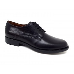 Valleverde 49878 scarpe uomo eleganti in vera pelle nero ultra light