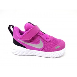 Minefield I'm hungry the wind is strong  Nike Revolution 5 Tdv Bq5673 610 scarpe running bambina mesh fuxia