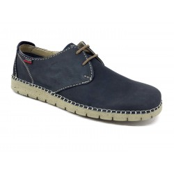Callaghan 84702 scarpe uomo casual comfort ultra light nabuk blu azul