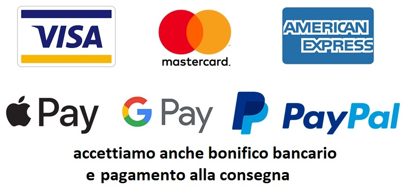 carte di credito/debito Google Pay Apple Pay
